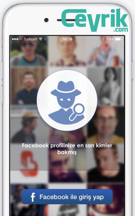 Facebook Profilime Kim Bakmış