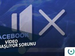 Facebook Video Sesli Başlıyor
