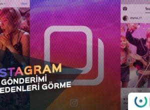 Instagram Gönderimi Kaydedenler