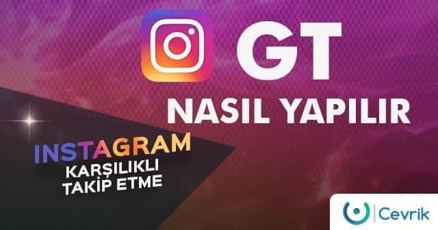 Instagram Karşılıklı Takip