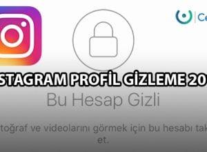 Instagram Profil Gizleme