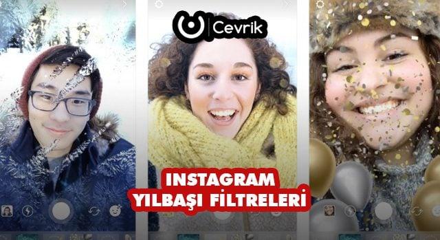 Instagram Yılbaşı Filtreleri