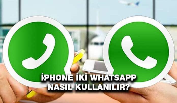iPhone 2 WhatsApp Kullanma
