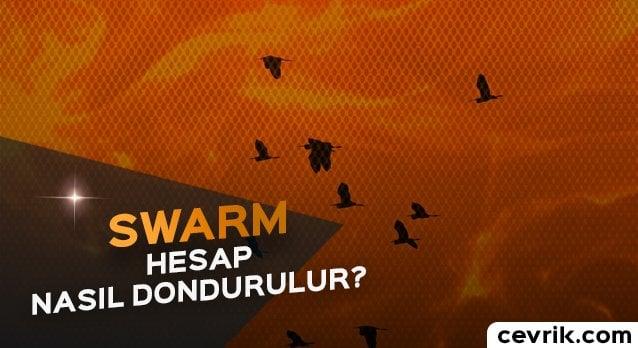 Swarm Hesap Dondurma 2017