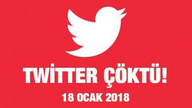 Photo of Twitter Çöktü! – 18.01.2018