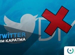 Twitter DM Kapatma