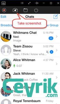 WhasApp Ekran Görüntüsü Bildirimi Geliyor