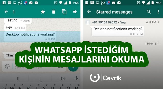 başkalarının whatsapp mesajlarını görme