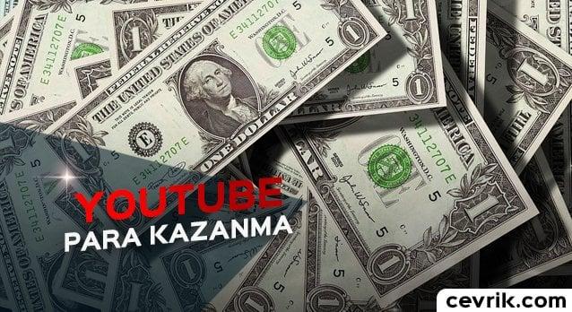YouTube Para Kazanma 2017